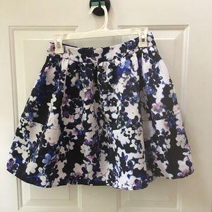 Shirt floral skirt